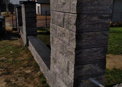 Ogrodzenia z kamienia łupanego2