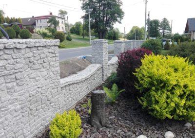 Ogrodzenia z kamienia naturalnego 3