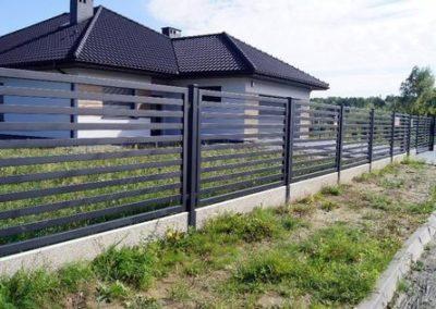 Ogrodzenie palisadowe1